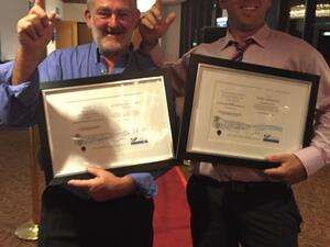 2015 SPASA Pool Builder of the Year & Construction Supervisor of the Year Image