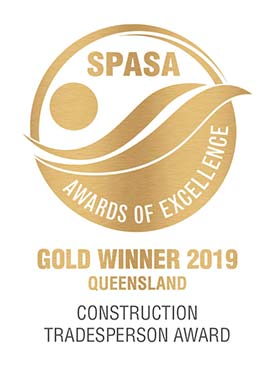 Construction Tradesperson Gold Award 2019