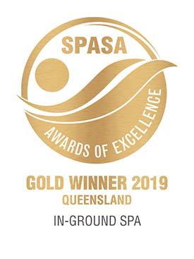 In-Ground Spa Gold Award 2019