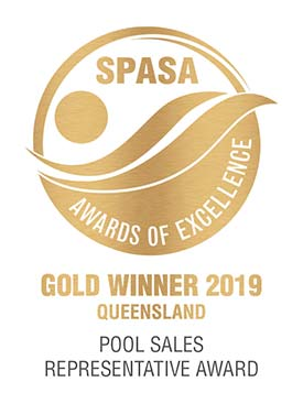 Pool Sales Representative Gold Award 2019