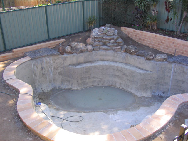 Step By Step Building Process Queensland Family Pools
